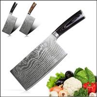 Deutschland 4116 Edelstahlmesser Küche Metzgermesser Klebermesser Messer Messer mit Pakka Holzgriff
