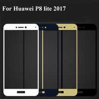1PC Full Cover Protective Tempered Glass For Huawei P8 lite ...