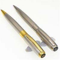 고품질 S.T Duponte 볼펜 펜 슈퍼 골드 클립 오피스 공급 쓰기 펜 도매 크리스마스 선물