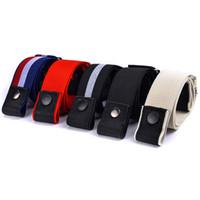 مصمم أزياء الرجال أحزمة للنساء حزام حزام مطاطا دون أحزمة مشبك قابل للتعديل حزام الألوان
