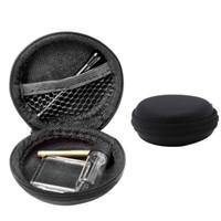 Tragbare Riechflaeschchen Set Tabakspfeife Rauchen Werkzeugkoffer Metallrohr-Vorratstank Fünf-Stück Lagerung Pill Box