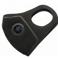Adulto 3D lavable esponja máscara con la respiración Máscaras de la válvula reutilizable reutilizables boca máscara anti-polvo Anti polución