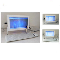 الشاشة التي تعمل باللمس المهنية جميع في جهاز كمبيوتر واحد الكم بالرنين المغناطيسي الكم الجسم محلل الصحة