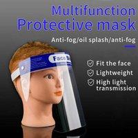 Em armazém ajustável Anti-fog Dental Full Face escudo de plástico viseiras Film Anti Saliva Protective Film substituível