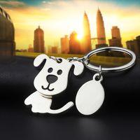 Güzel Köpek Anahtarlıklar Yaratıcı Komik Güzel Hareketli Kafa Kedi Kolye Anahtarlık Anahtarlık Halka Anahtar Fob Tutucu Moda Promosyon Hediyeler Opp Torba Ile