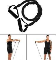 US Stock élastique bandes de résistance Yoga Pilates Fitness corde Tirer entraînement Sport caoutchouc traction Tirer la corde Expander Équipement Gym bande FY7053