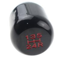 Auto 5-Speed Gear Manuale shifter spostamento bastone capo pomello della leva del coperchio di alluminio universale