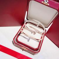 Cheio de pregos Pulseira S925 prata esterlina jóias de luxo ajustável Jóia do casamento Pulseira Mulheres Gift1