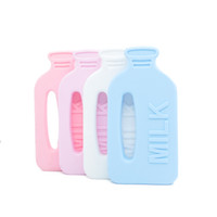 Milk Bottle Teether Large Milk Bottle Shape Safe Teething To...