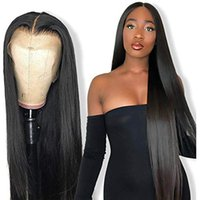 Top Quality Natural Straight 360 Lace Wig Pre Plucked Natura...