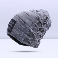 2019 con estilo skullies beanies sombreros de invierno hombre grueso y cálido sombrero de invierno masculino grueso sombrero beanies gorra de hombre gorras de invierno toucas gorros