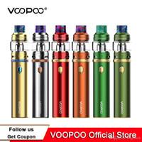 100% Autêntico Kit Calibre de VoIPoo 110 W Starter Embutido 3000ah Bateria Com 5 ml UFORCE Tanque UFORCE Bobinas Caneta Poderosa Kit vs Vape Pen 22