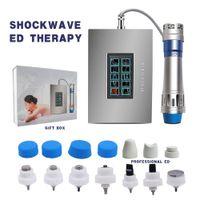 고품질 미니 홈 사용 Shockwave 물리 치료 기계 7 치료 팁 충격파 치료 장비 전기