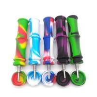 dab tools Silicone Nectar Collector Kit Tube Dap Fumer 11.4 * 2.8cm