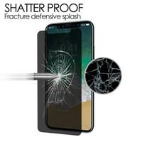 Anti-spy privacidade vidro para samsung galaxy s3 i9300 s4 i9500 s5 protetor de tela privacidade vidro temperado protetor de filme com caixa de varejo