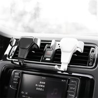 Cell Phone Vehicle Mount Holder Auto- Clamping Air Vent Vehic...