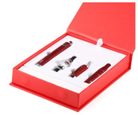 Magic 3 i 1 vaxförångare Pen kit Dry ört elektroniska cigaretter med förstärkare MT3 glasförstärkare EVOD Batteri 650MAH 900MAH 1100MAH