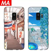 MA Street girl samsung s9 mobile phone shell s8 summer beaut...
