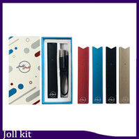 Vape JOLL Starter Kit 280mAh Compatibile fumare USB Pen Battery Charger Cartridge Vape Pen Kit 0.268.125