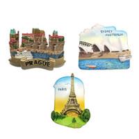 Resin Singapore Fridge Magnet 3D Refrigerator Magnet Tourist Travel Souvenir