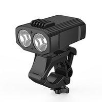 أضواء الدراجات Y16 400LM 2 XPE LED دراجة ركوب الخيل USB قابلة للشحن مع 360 درجة دوران قوس و 5 طرق ل