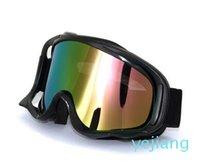 luxury- Внедорожный мотоцикл лобовое стекло Супер жесткие лыжные очки Street спортивный автомобиль PC противотуманные очки