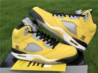 أصيلة 5 أحذية طوكيو 23 لكرة السلة الرجل اسكواش الذرة انثراسايت الذئب الرمادي الأسود 2011 الإصدار الأصفر اليابان طوكيو المحدودة الرياضة مع صندوق