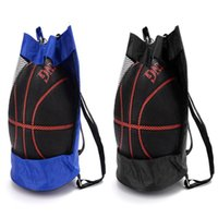 Basketball Backpack Oxford Cloth Bag Corpo Cruz Basketball Net Viagem Sacos de Desporto voleibol futebol Bolsas de ombro Mochilas Outdoor