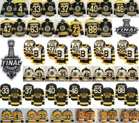 2019 Stanley Cup Finals Boston Bruins 33 Zdeno Chara Patrice 37 Bergeron Bobby Orr Tuukka Rask Krejci Brad Marchand 73 Charlie McAvoy Jersey