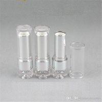 Läppstift rundflaska färg kosmetisk förpackning 500pcs / parti