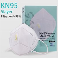 wholesale hot sale KN95 face mask Non- woven kN95 mask Anti- P...