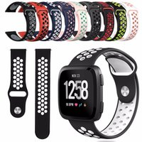 Hot Sport Silicone More Hole Straps Bands For Apple Watch Se...