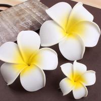 100 Adet Saç Klip Gelin Saç iğneler Bohemya Seaside Beach Aksesuar Hediye İçin Kız Sahil Yumurta Çiçek Firkete Bohemian Frangipani