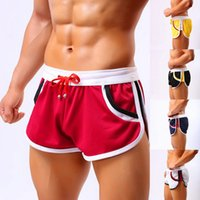 Men Running Shorts Gym Training Sportwear Home Leisure Wear ...