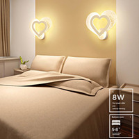 BRELONG bedroom wedding room night light simple modern warm ...