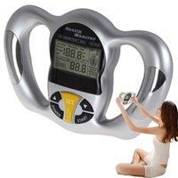 Цифровые весы ЖК-монитор жировых отложений Монитор здоровья Тонкий анализатор жиров Измерение жировых отложений Индекс массы Bmi Ручной калориметр