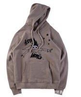 AstroWorld para mujer para hombre con capucha de impresión para hombre sudaderas con capucha libre de Hip Hop envío Pullover 2019 Travis Ropa