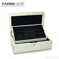FAHMI charme original Mode atmosphère Bijoux Bijoux Boîte Cadeau Femme Protection Box Bracelet Collier Bague Stud Boîte de rangement