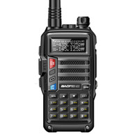 2019 Baofeng UV-S9 High Power portátil Walkie Talkie 10 km Long Range CB Radio Transceiver para caça Forest City Atualize 5R