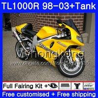 + Tank för SUZUKI SRAD TL1000R 1998 1999 2000 2001 2002 2003 Stock Yellow Hot 304HM.62 TL 1000R TL1000 R TL 1000 R 98 99 00 01 02 03 FAIRING