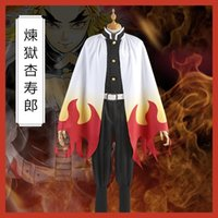 Démon Slayer: Kimetsu No Yaiba Rengoku Kyoujurou cosplay costume