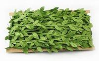 أوراق المحاكاة ، أوراق الشجر الخضراء ، إكليل الديكور ، الإكساء ، القماش ، الأوراق الخضراء ، الروطان ، الأوراق ، الزهور الاصطناعية ، EEA403
