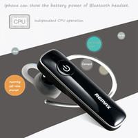 원래 Remax의 RB-T8 T8 블루투스 스마트 폰 이어폰 4.1 스포츠 무선 블루투스 헤드폰 헤드셋 야외 무선 이어폰 이어폰