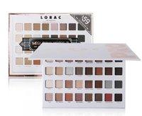 Édition limitée Cosmétiques Lorac Mega Pro 3 Palette Palette Eau à paupières 32 couleurs Palette Shimmer Matte Marques Palette ombre Palette Maquillage
