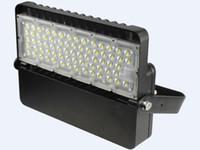 Ультра-тонкий светодиодный прожектор 100W 120W AC100-277V IP65 Высокая яркость наружного освещения светодиодный ландшафтный прожектор 140Lm / W