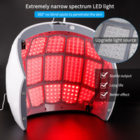 PDT LED 광자 빛 치료 램프 얼굴 바디 뷰티 스파 마스크 스킨 여드름 주름 제거제 장치 살롱 아름다움 장비를 조