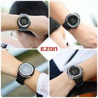 CWP 2021 Ezon S2 Bluetooth 4.0 Sports SmartWatch Call Herinner Stappenteller Stappen Counter Calorieën Heren Smart Watch voor iOS en Android