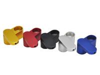 Nizza Falten Aluminiumlegierung Rotation Herb Rauchen Metallschlauchportable Doppeldeck-Qualitäts-Easy Clean Innovative Design Heiße Kuchen DHL