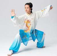 중국어 무술 유니폼 쿵후 의류 태극권 의류 무술은 taolu는 남성 여성 어린이 소녀 소년 아이들을위한 일상적인 의상 기모노에 맞게
