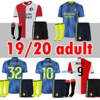 19 20 Adult Feyenoord soccer jerseys Europa League 2019 2020...